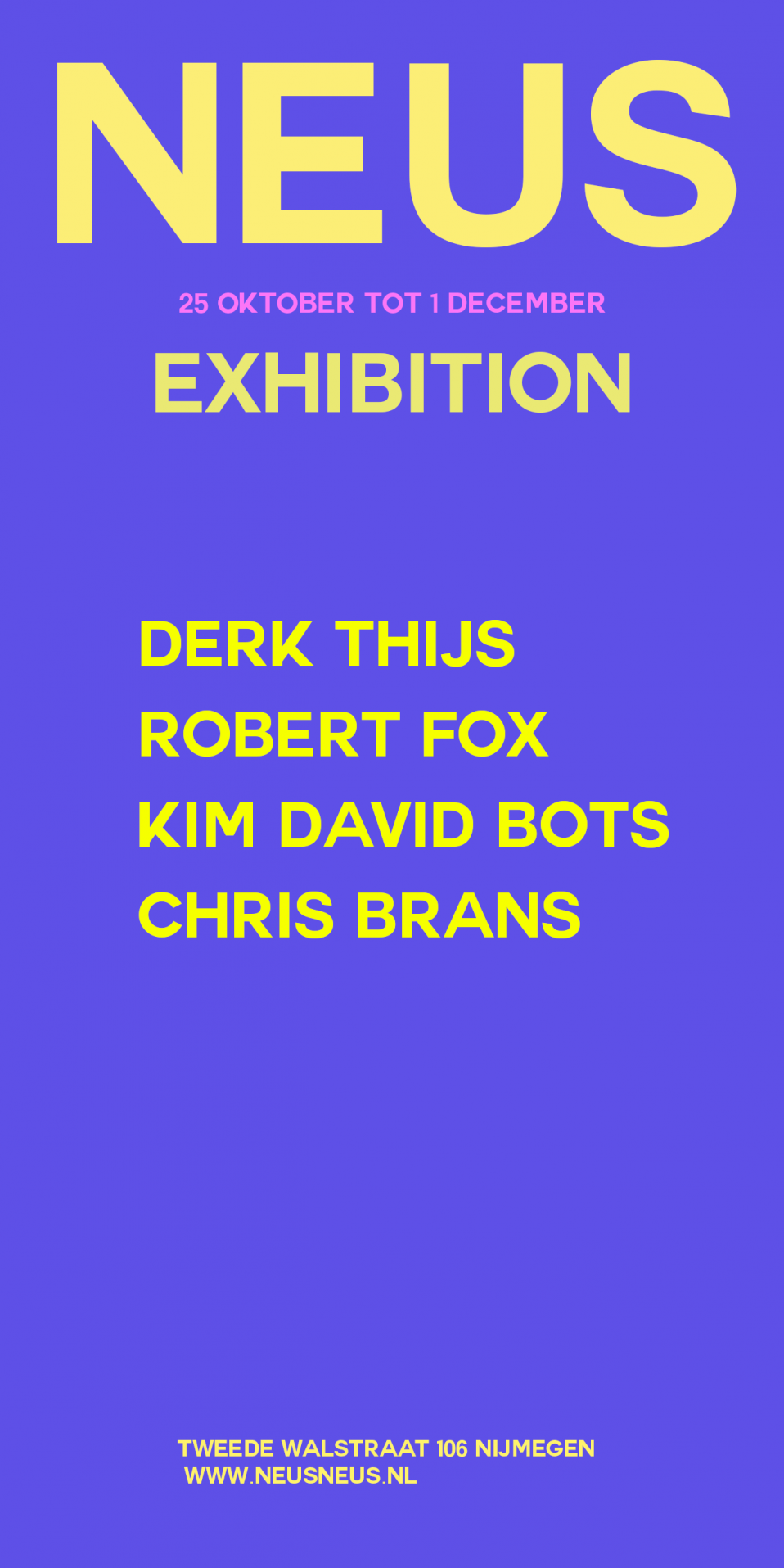Derk Thijs, Robert Fox, Kim David Bots, Chris Brans